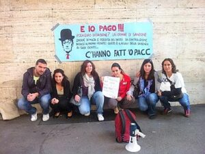 La Sapienza: studenti in sciopero