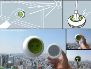 SolarPoweredWindowSocket