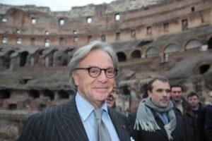 Yara Nardi Ag.Toiati Colosseo. Conferenza stampa presentazione restauro Colosseo finanziato da Della Valle.